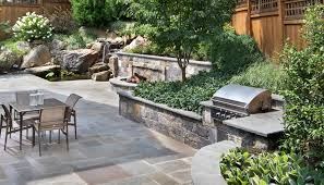 patio with pool and grill. Perfect Pool 2 Outdoor Kitchen Design To Patio With Pool And Grill O