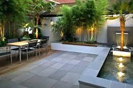 modern concrete patio. Modern Patio Ideas Design Using Contemporary Lighting And Concrete I