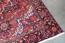 red oriental rug and decorating