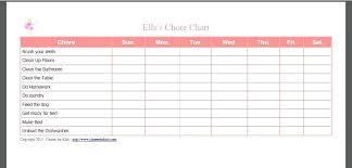 Printable Family Chore Chart Template Printable Family Chore Charts Free Chart Template Careeredge Info
