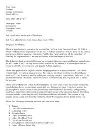 Cover Letter For Sports Examples Of Sports Journalism Cover Letters ...