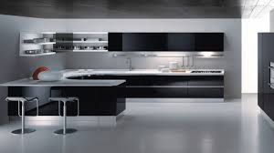 Modern Black Kitchen Cabinets Kitchen Awesome Black Kitchen Cabinets Small Kitchen With Beige