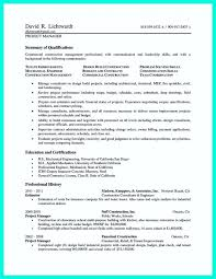 Project Manager Resume Sample Doc Mesmerizing Baseball General Manager Sample Resume Best Construction Project