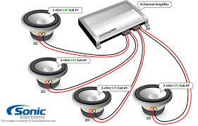 dual 1 ohm subwoofer wiring diagram wirdig