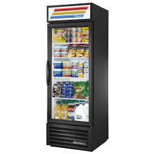 commercial refrigerator glass door merchandiser 1 door 23 cu ft