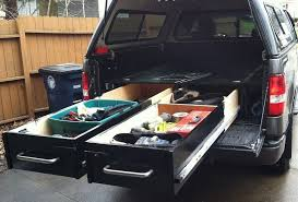 build drawers in your truck bed for heavy duty tool storage