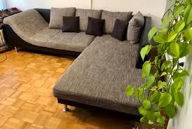 Wohnlandschaft Couch Sofa Leder Stoff In 80687 München Für