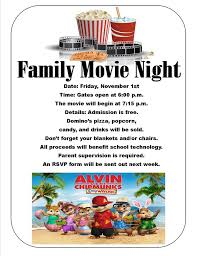 Free Movie Night Flyer Templates Family Movie Night Flyer Template Movie Night Flyer Free