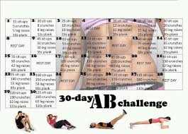 30 day ab challenge i m on day 12 and boy can i feel