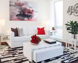 Superior Small Contemporary Open Concept Living Room Idea In Miami With White Walls Amazing Ideas
