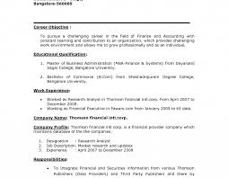 Objectives For Resumes Outstanding Job Objectives Ons Career For Nursing Example Teacher 74