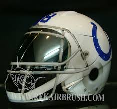 the colts football custom made motorcycle helmet by www