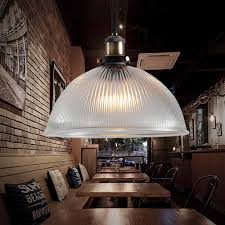 Modern Led Vintage Industrial Retro Loft Glass Ceiling Shade