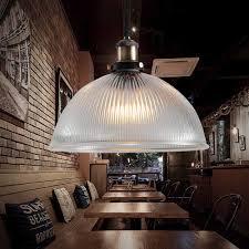 Modern Led Vintage Industrial Retro Loft Glass Ceiling Shade