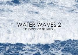 Free Water Waves Photoshop Brushes 2 Free Photoshop Brushes At