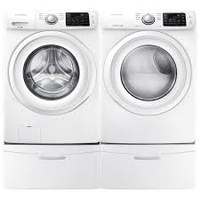 Best Price On Front Load Washer And Dryer Samsung 48 Cu Ft High Efficiency Front Load Washer Wf42h5000aw