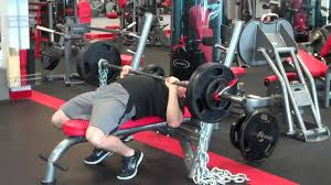 Bench Press With Chains  YouTubeChains Bench Press