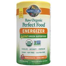 <b>Raw Organic Perfect</b> Food Energizer Powder Pomegranate Yerba ...