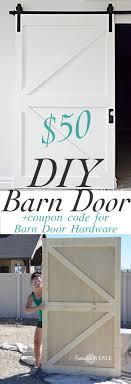 $50 DIY British Brace Barn Door -with promo code for The Barn Door ...