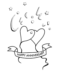 happy anniversary coloring pages. Simple Happy Colouring 50th Anniversary Parties Marriage Anniversary Happy  Coloring Pages For Kids With N