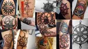 эскизы тату штурвал клуб татуировки фото тату значения эскизы