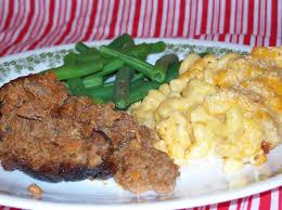 What goes good with mac and cheese? Meat Loaf And Macaroni Cheese Thecrackerboxkitchen