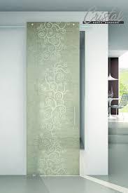 Agorà corda: la porta in vetro scorrevole di cristal con inserti