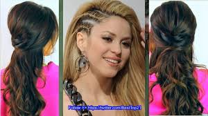 Hair Style For Straight Hair cute hairstyles for long straight hair youtube 8343 by wearticles.com