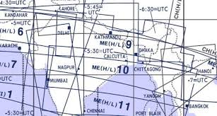 High And Low Altitude Enroute Chart Middle East Me H L 9 10 Jeppesen Me H L 9 10