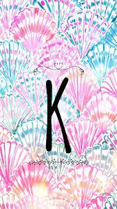 Letter K iPhone wallpaper. Mermaid ...