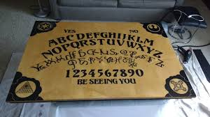 Ouija Board Coffee Table My Ouija Board Coffee Table Includes All The Letters Including