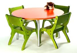 kids table and stool set round chair childrens sets white contemporary tabl