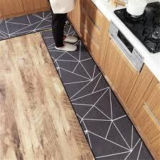 moroccan trellis kitchen rug set non slip waterproof soft modern area rugs
