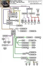 wiring diagram morris minor owners club wiring diagram