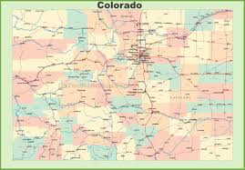 colorado state maps  usa  maps of colorado (co)