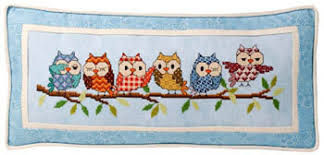 Owl Cross Stitch Pattern Inspiration Glendon Place Outrageous Owls Cross Stitch Pattern 48Stitch