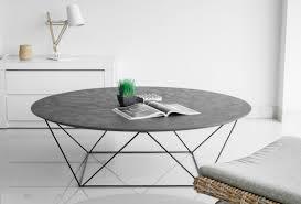 TABLE BASSE TRAPEZE - Table basse Trapèze avec plateau en revêtement ...