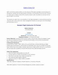 Cv Format For Airlines Job Resume Format For Aviation Ground Staff Lovely Cabin Crew Impressive
