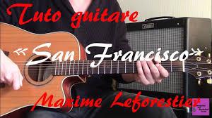 tuto guitare san francisco maxime leforestier tab