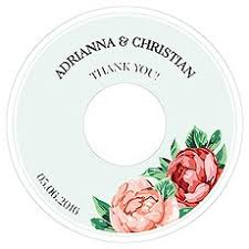 Wedding Cd Labels Personalised Cd Labels Confetti Co Uk