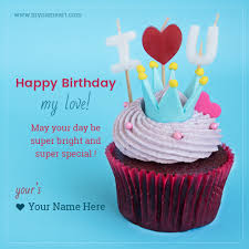Happy Birthday Love Quotes Simple Happy Birthday My Love Quotes For Himher Wishes Greeting Card