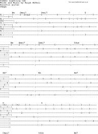 lighting cords. Ralph McTell Song: Summer Lightning Tab, Lyrics And Chords Lighting Cords U