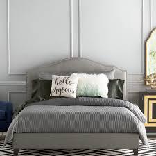 Platform Bedroom Latitude Run Lockheart Upholstered Platform Bed Reviews Wayfair