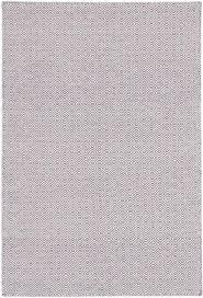 indian nevada 4 2 x 6 2 flat weave rug in cream light purple