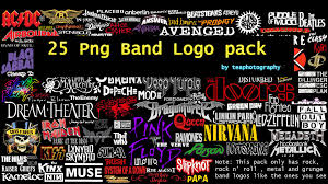 25 png band logos by teaphotography07