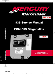 merc service manual ecm diagnostics electrical connector