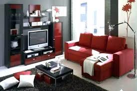 Black Furniture Living Room Ideas Impressive Red Black And White Room Decor Red Black And White Party Decoration