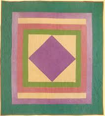 Amish Diamond in Square quilt, 1930s. | ideas. | Pinterest ... & Amish Diamond in Square quilt, 1930s. Adamdwight.com