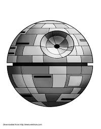 Small Picture Printable Death Star Pumpkin Template Throughout Coloring Page