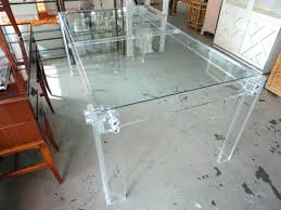 Clear acrylic furniture Plexiglass Acrylic Dining Table Small Acrylic Table Clear Acrylic Furniture In Rectangle Shape And Wooden Table With Atameken Acrylic Dining Table Gaing